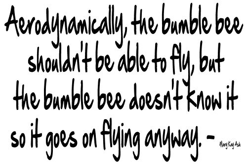 bumble bee quote